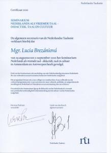 seminarium Nederlands als vr. taal